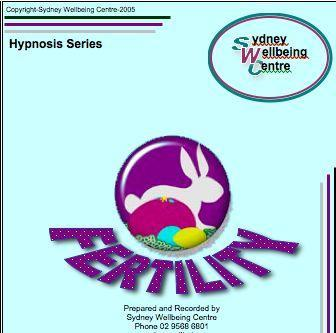 Hypnofertility cd for conception