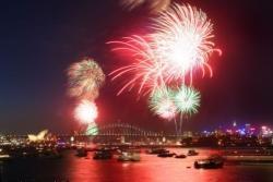 celebrating new year