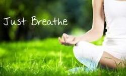 self hypnosis and breathing calmly for anxiety relief