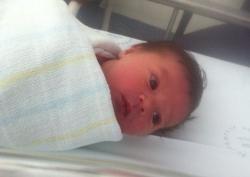 Hypnobirthing baby Evie