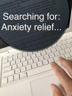 Anxiety relief for emotional health