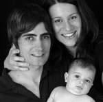 Baby Liam and family